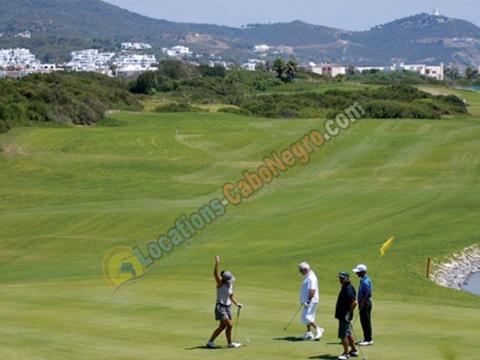 Le golf 18 trous de Cabo Negro