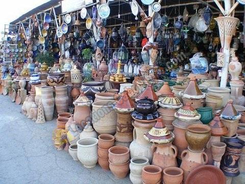 Poterie des artisants de Cabo Negro
